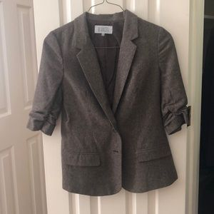 BB Dakota brown tweed blazer